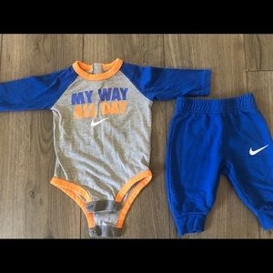 Baby Boy Nike two piece outfit